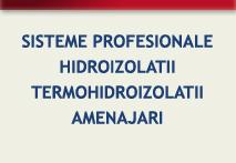 hidroizolatii terase, hidroizolatie